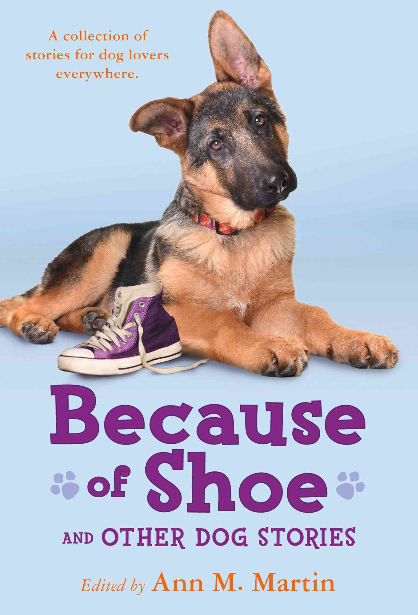 Because of Shoe and Other Dog Stories By Martin, Ann M. (EDT)/ Engle, Margarita (CON)/ Hobbs, Valerie (CON)/ Muth, Jon J. (CON)/ Orr, Wendy (CON)